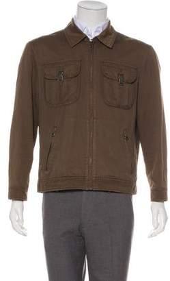 Michael Kors Linen-Blend Jacket