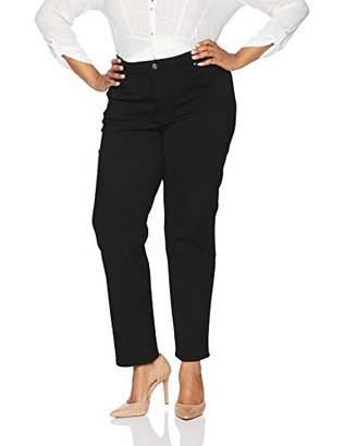 Gloria Vanderbilt Women's Plus Size Amanda Ponte Knit Pant