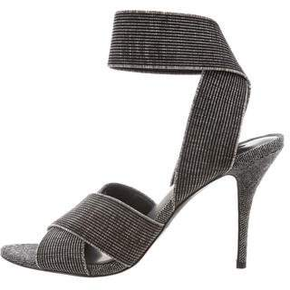 Alexander Wang Canvas Ankle Strap Sandals