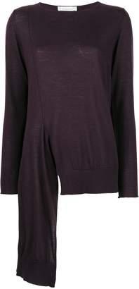 Fabiana Filippi asymmetric lightweight sweater
