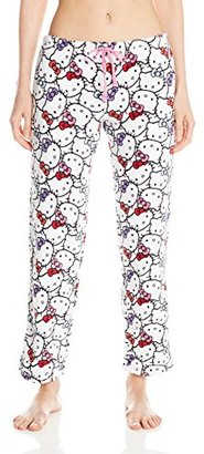 Hello Kitty Women's Warm and Toasty Rolled Pant $16.02 thestylecure.com