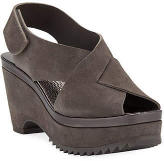 Pedro Garcia Fayre Platform Wedge Sandals