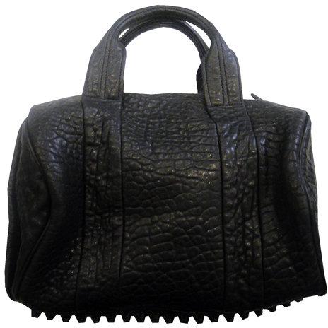 Alexander Wang Rocco Mini Duffle In All Black