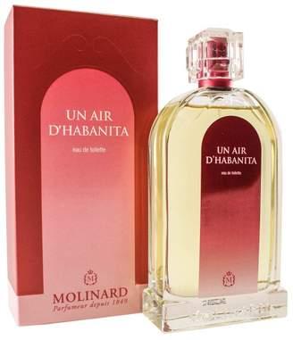 Molinard 1849 Un Air D'habanita Eau De Toilette Spray for Women, 3.3 fl. Oz.