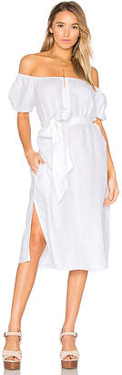 FAITHFULL THE BRAND Figuera Dress in White $190 thestylecure.com
