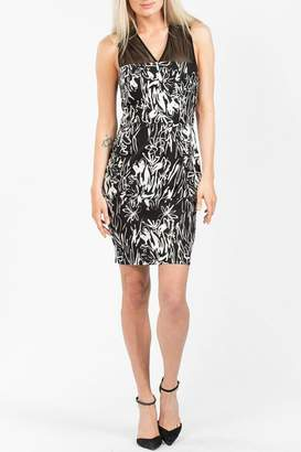 French Connection Copley V Neck Dress