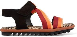 dries van noten madras canvas chaussures