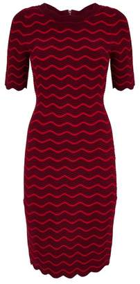 Milly Wave Bodycon Dress