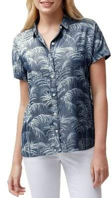 Tommy Bahama Fresco Fronds Button-Down Shirt