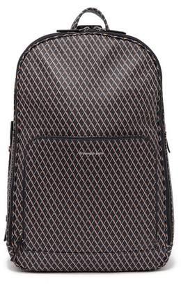 Ermenegildo Zegna Printed Leather Backpack