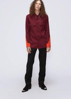 Calvin Klein Embroidered Uniform Shirt
