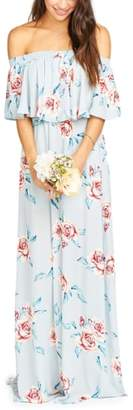 Show Me Your Mumu Hacienda Convertible Gown
