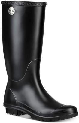 UGG Women Shelby Matte Rain Boots
