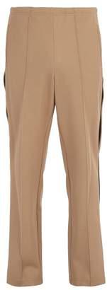 Maison Margiela Side Striped Cotton Track Pants - Mens - Beige