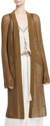 Giada Forte Oversized Open-Front Cardigan