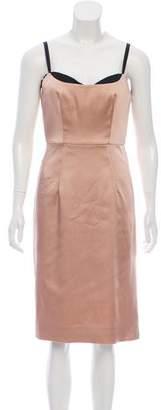 Milly Sleeveless Knee-Length Dress