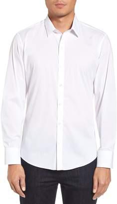 Zachary Prell Robert Dobby Diamond Sport Shirt