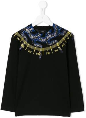 Marcelo Burlon County of Milan Kids snake print sweatshirt
