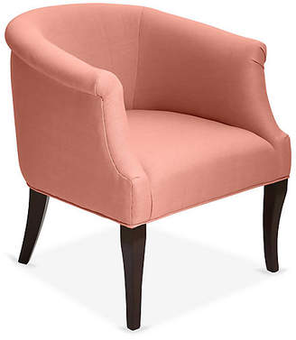 One Kings Lane Selby Club Chair - Rose Linen