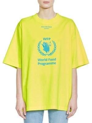 Balenciaga X WFP Logo T-Shirt