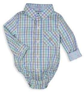 Andy & Evan Baby's Gingham Cotton Bodysuit