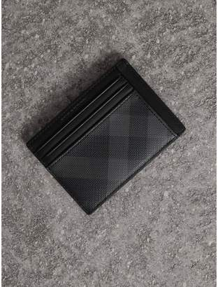 Burberry Check Card Case