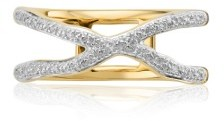 Women's Monica Vinader Riva Diamond Ring $395 thestylecure.com