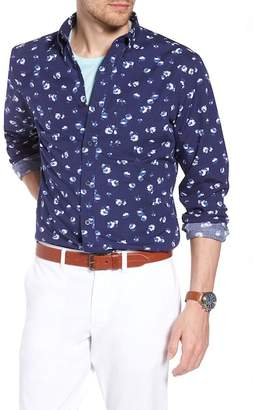 1901 Trim Fit Floral Sport Shirt