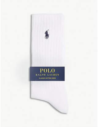 Polo Ralph Lauren Pony classic cotton crew socks