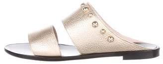 Lanvin Leather Studded Sandals