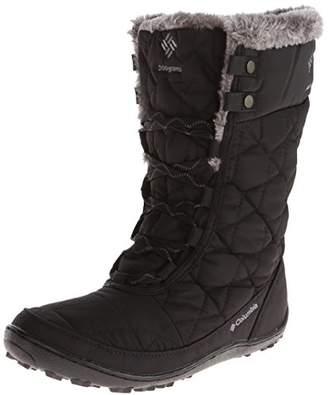 Columbia Minx Mid II Omni Heat, Women's Boots - Black (Black/Charcoal 010)
