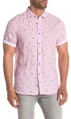 Heritage Short Sleeve Linen Modern Fit Sport Shirt