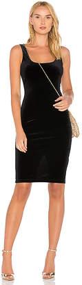 Bardot X REVOLVE Velvet Midi Dress