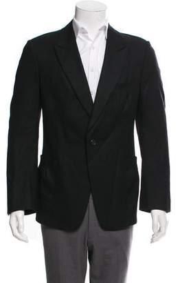 Saint Laurent Wool Single Button Blazer