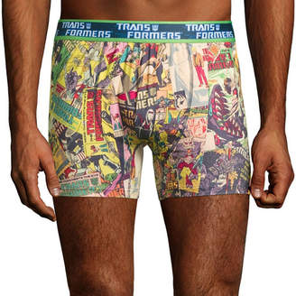 Novelty Licensed Transformers Boxer Briefs