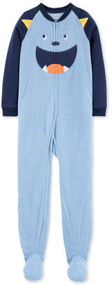 Carter's Little Boys 1-Pc. Monster Fleece Pajamas