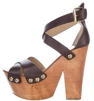 Giuseppe Zanotti Leather Twiggy Sandals