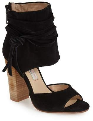 Kristin Cavallari by Chinese Laundry Leigh Ankle Cuff Heeled Sandal $150 thestylecure.com