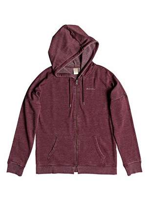 Roxy Junior's Rustling Leaves Zip-Up Hooded Sweatshirt