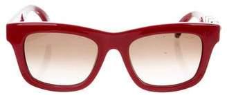 Valentino Square Rockstud Sunglasses w/ Tags