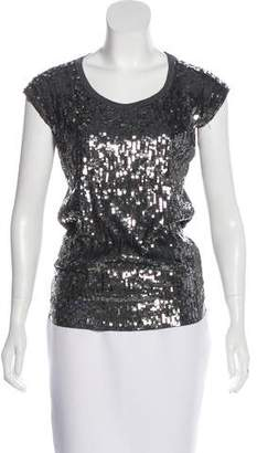 MICHAEL Michael Kors Sequinned Sleeveless Top