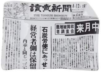Fornasetti Yomiuri Shimbun アッシュトレイ