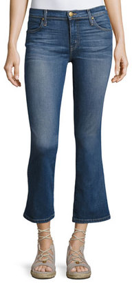 The Great The Low-Rise Nerd Kick-Flare Jeans, Trail Wash $265 thestylecure.com