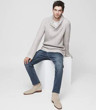 Reiss Largs Shawl Collar Jumper