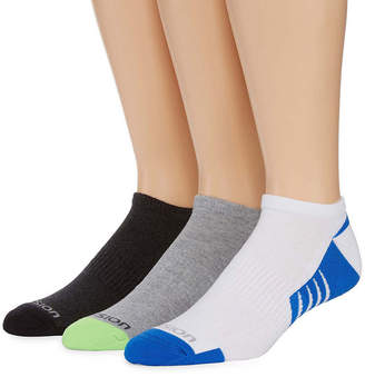 Xersion 3-pk. Mens Shield Protect Low Cut Socks - Extended Size