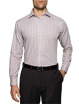 Van Heusen 2 Colour Check Euro Fit Shirt