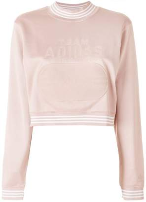 adidas cropped sweatshirt