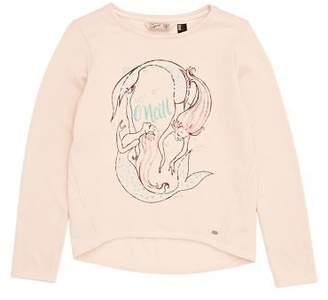 O'Neill Sweatshirts Lg Mermaid Bay Sweatshirt - Pale Blush