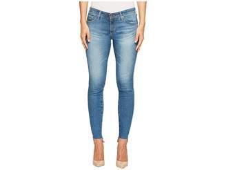 AG Adriano Goldschmied Leggings Ankle Uneven Hem in Emanate Women's Jeans