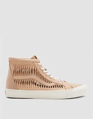 Vans Vault By Twisted Leather SK8-Hi Reissue LX Sneaker in Amberlight/Marshmallow